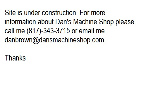 dans machine shop